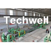 Buy cheap 0.3 - 3.0mm / 0.5 - 3.0mm Steel Coil Cut To length Machine Line With Auto Stacker System product