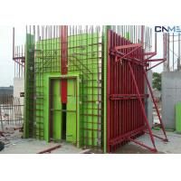 Buy cheap Adjustable Wall Steel Formwork System Panel Strut , Flexible Concrete Formwork Secure product