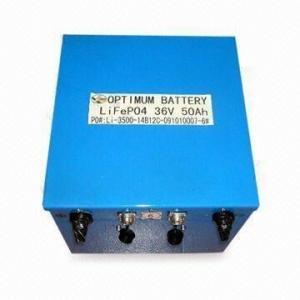 Buy cheap Rechargable Optimum Lithium Car Battery High Capacity 36v 50ah product
