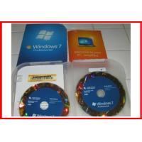 Buy cheap 100% original Windows 7 Professional Retail Box 32 & 64 bit with OEM BOX product