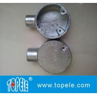 Buy cheap One Way Terminal Electrical Emt Fittings Conduit Circular Junction Box product