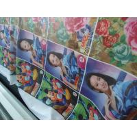 Buy cheap 100% Polyester Windows Curtain / Flag Fabric 110-250 G / GSM product