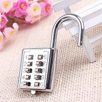Buy cheap Mini push button Code zinc alloy Combination lock 10 pin Sports Locker product