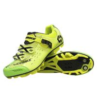 China Lightweight Mens SPD Cycling Shoes , Mens Mountain Biking Shoes Good Shock Absorption on sale