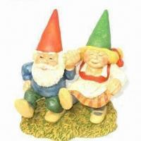 Buy cheap Polyresin Decoration Figurine Craft, Measures 10 to 15cm product
