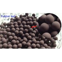 Buy cheap 20MM Valves / Bearings Silicone Rubber Ball 70 Shore High Temprature Resistant product