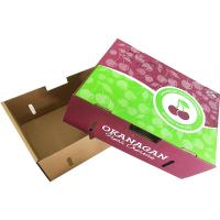 Buy cheap Customized Accepted Cardboard Crates For Fruits And Vegetables High Strength Cardboard product