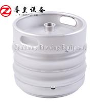 China Large Beer Keg Machine , Draft Barrel Container 50 Litre Stainless Steel Keg on sale