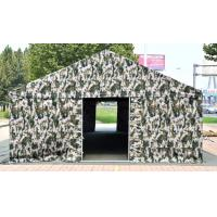 Buy cheap Fire Retardant Military Army Tent Camouflage With Reinforced Nylon Thread product