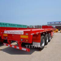 Buy cheap 40ft bpw tri-axle flatbed trailers for sale product