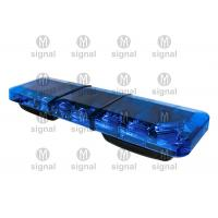 Buy cheap Super Thin Blue Police Light Bars High Brightness Low Power Consumption Long Working Life product
