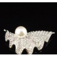 Buy cheap Brooch, crystal brooch, pearl brooch product