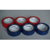 Buy cheap Shiny And Fire Retardant PVC Electrical Tape Blue / Red For Wires And Cables product