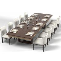 Buy cheap Modern Wood Commercial Restaurant Furniture With Dining Room Chairs High Grade product