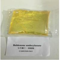 Buy cheap Boldenone Undecylenate Steroid Hormone Powder Muscle Growth Cas 13103-34-9 from wholesalers