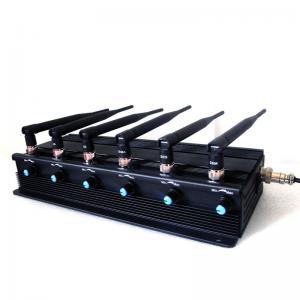 Buy cheap Chinajammerblocker.com: โรงงาน Jammer | 15W High Power Adjustable 3G Mobile Phone VHF UHF Walkie-Talkie Jammer product