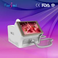Buy cheap portable wavelength 808nm diode laser hair removal machine15inch capacitive screen 1-10Hz frequency product