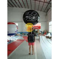Buy cheap Customized PVC Attractive Durable Backpack Balloons with Full digital printing for Parade product
