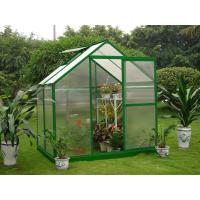 Buy cheap Small 4mm UV Twin-wall Polycarbonate Portable Garden Greenhouses 6' X 4' product