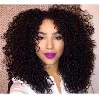 Luster Real Virgin Brazilian Remy  Curly Human Hair Extensions Multi Colored