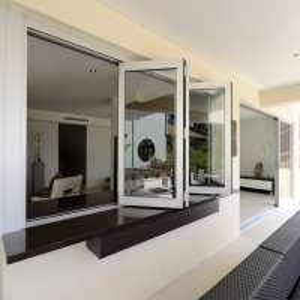 Buy cheap Aluminum Sliding Kitchen Glass Balcony Folding Window product