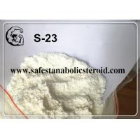 Buy cheap Safe Delivery SARMs White Powder S-23 for Increasing Muscle Mass with High Quality product