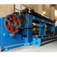 Buy cheap Heavy Duty Gabion Making Wire Netting Machine 80mm x100mm For Different Wire product