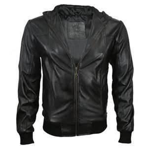 Unité centrale de 45% de XL L hommes de couleur de M XXL, vestes en cuir de coton artificiel de 55%