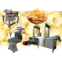 Buy cheap Tapioca Potato Chips Production Line Chips Making Machine 200KG / H 380V Voltage product
