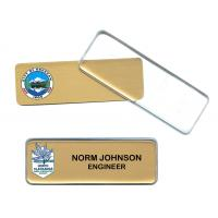 China custom promotional metal badge with clear cover with your logo printing wholesale