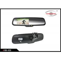 Buy cheap 4.3 Inch Rear View Mirror Backup Camera System With High Reflective Rate product