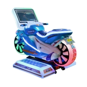 China 1-2 players Kids Arcade Machine / Motorcycle Racing Simulator with 19 Screen on sale