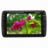 Buy cheap 7-inch LCD DVB-T Portable TV, Supports TV Play, 0 to 40°C Operating Temperature product