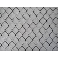 Buy cheap SS316 Black Oxide Rope Mesh for Ape and Bird Aviary Nettings product