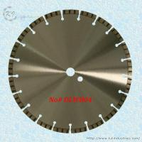 Buy cheap Laser Welded Diamond Turbo Saw Blade for Cutting Concrete and Granite - DLWB04 product