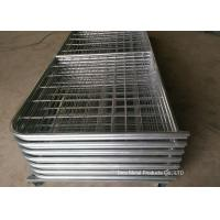 Buy cheap Galvanized Pipe Frame Farm Mesh Fencing Easy Install With I / N Type product