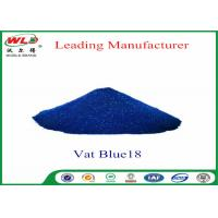 Buy cheap Eco Friendly Blue Vat Dye CI Vat Blue 18 Navy Blue Ra Dyeing Of Cotton product