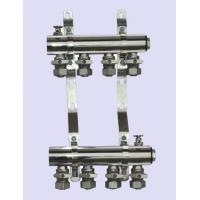 Buy cheap simple manifolds with ball valve on supply and return flow product