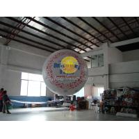 Buy cheap Filled helium sphere balloons with two sides digital printing for Outdoor advertising product
