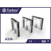 Buy cheap Swing Access Control Turnstile Gate Accurate Logic Judgment And Infrared Reset Function product