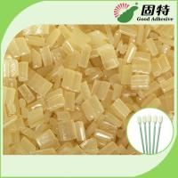 Buy cheap Environmental Yellow granule Hot Melt  Medical Glue Adhesive for Disposable Cleaning Cotton Swab product