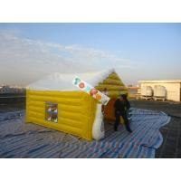 Buy cheap Inflatable Yellow Carton House Event Tent Both For Indoor And Outdoor House from wholesalers