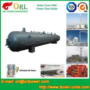 Buy cheap High Pressure Vacuum Boiler Mud Drum For Heating Industry SGS Standard product