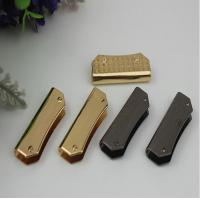 Buy cheap Bag parts & accessories light gold metal corner protector 37 mm length with high quality product