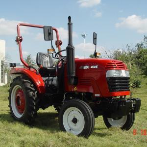 Granja agrícola del tractor de cuatro ruedas del tractor 20hp 2wd del acuerdo del tractor JM200E del césped de China Jinma