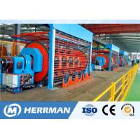 Buy cheap Independent Drive Rigid Frame Strander Cable Equipment For Copper / Aluminum Conductor product