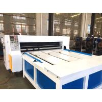 Buy cheap Corrugated Box Die Cutting Machine / Industrial Rotary Die Machine product