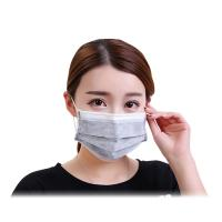 Buy cheap Grey Color Activated Carbon Dust Mask Dust Protection Size 17.5*9.5CM product