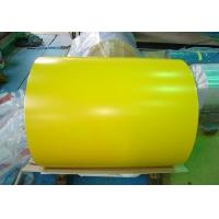 Buy cheap 0.15mm-2.0mm Color Coated Prepainted Galvanized Aluzinc Steel Coil Gi/PPGI for roofing product