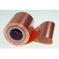 Buy cheap 10 Micron High Performance Copper Foil Double Matter Side 500 - 5000 Meter Length product